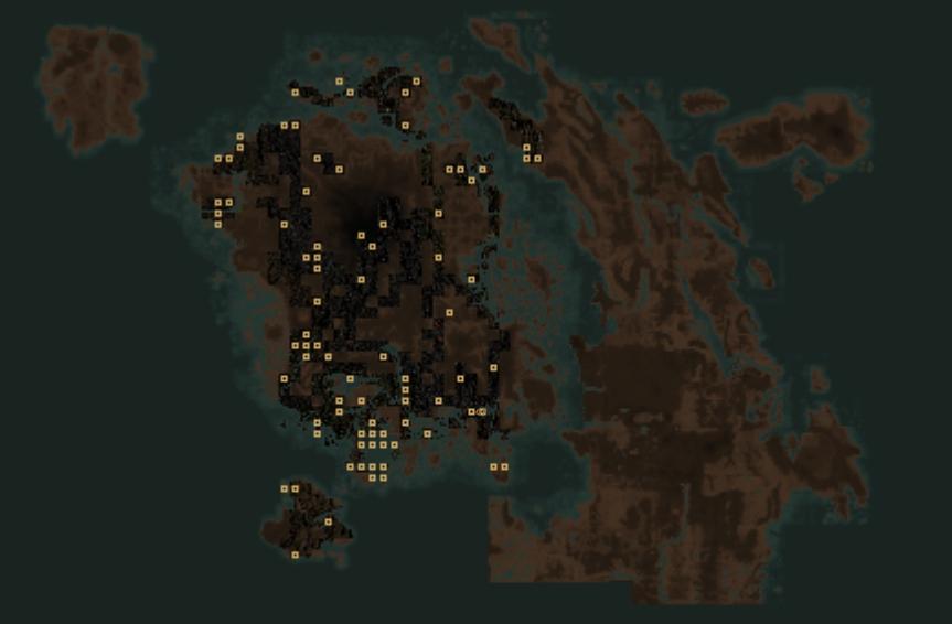 Tamriel Rebuilt World Map Every Video Games